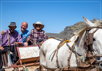 Local people with horse cart
